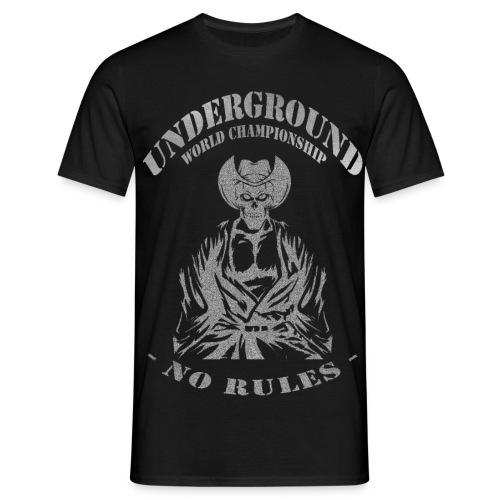 Underground World Championship - Montana Fighter 2 - Männer T-Shirt