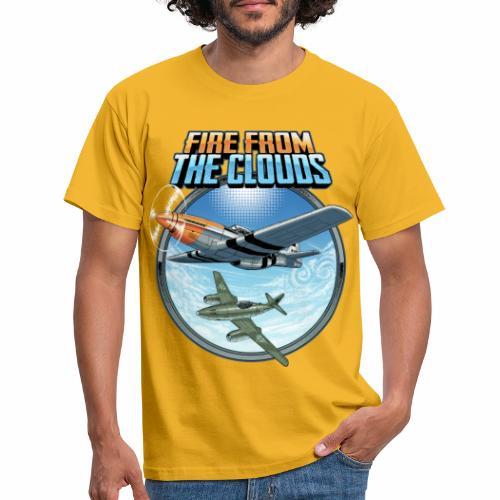 Le feu des nuages - T-shirt Homme