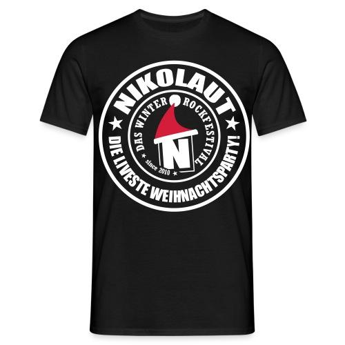 nikolaut stamp straight 2013 - Männer T-Shirt