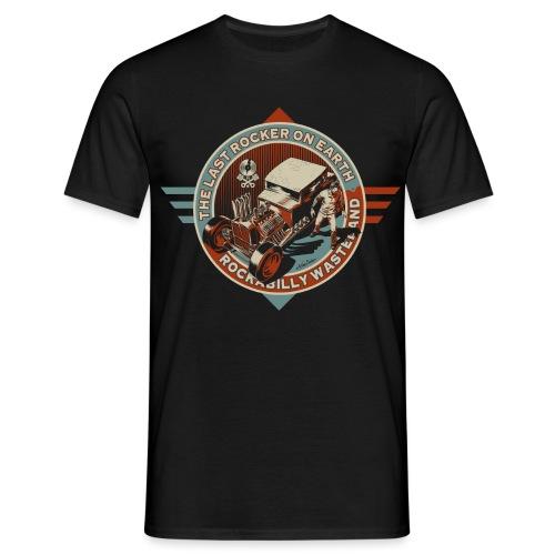 camiseta rockabilly wasteland hot - Camiseta hombre