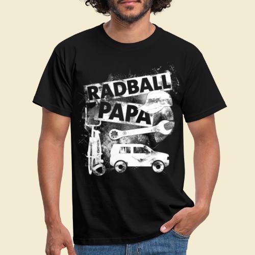 Radball   Papa - Männer T-Shirt
