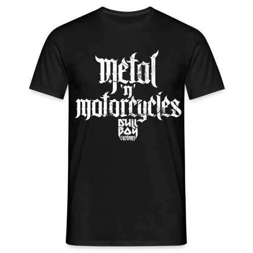 Metal 'n' Motorcycles - T-skjorte for menn
