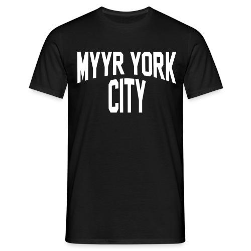 MYYR YORK CITY WHITE - Miesten t-paita