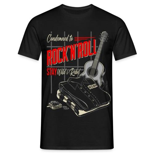 Condenado al Rock and Roll - Camiseta hombre