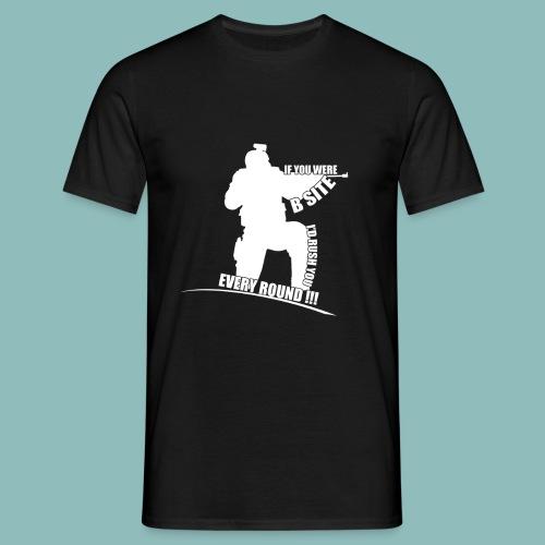 I'd rush you! White Version - Männer T-Shirt