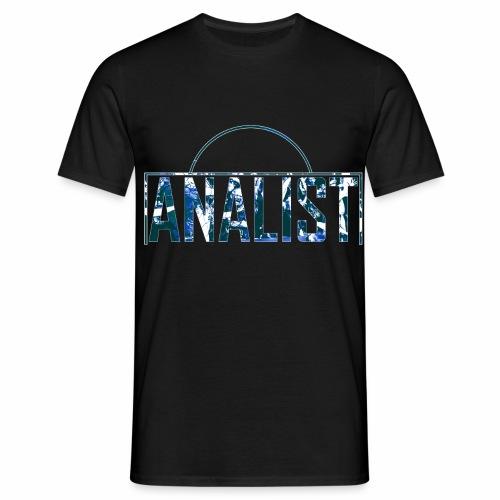 ANALIST - Mannen T-shirt