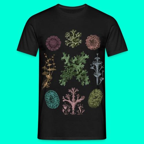 Lichen_tisha_svart_merged - T-shirt herr