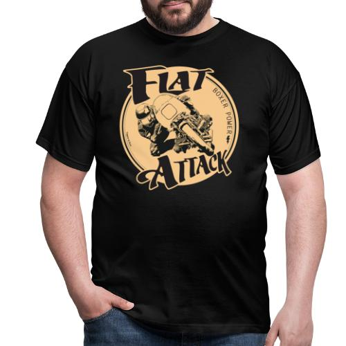 N 179 FLAT ATTACK 2 - T-shirt Homme