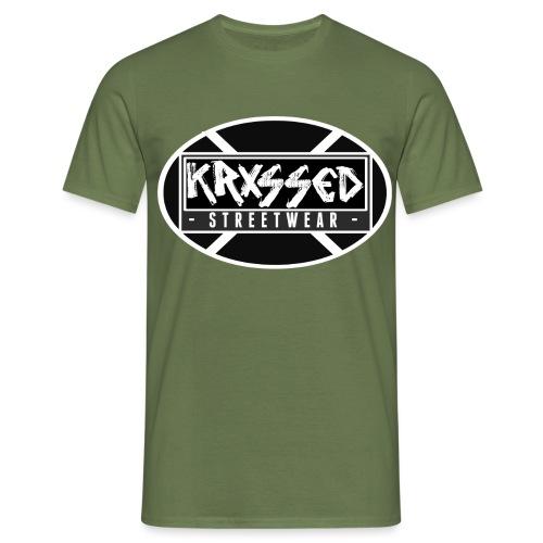 KRXSSED BASIC - Mannen T-shirt