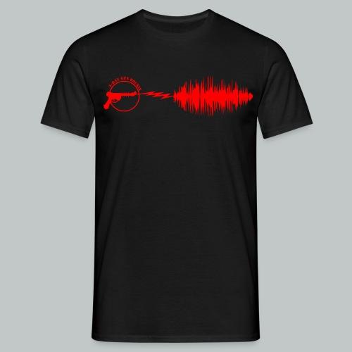 X-Ray Gun Rockin - Men's T-Shirt