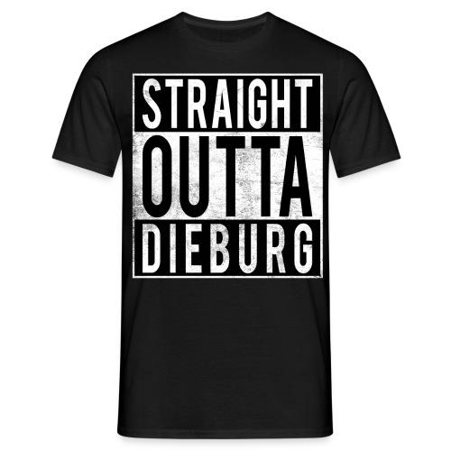 straightouttaDIEBURG - Männer T-Shirt