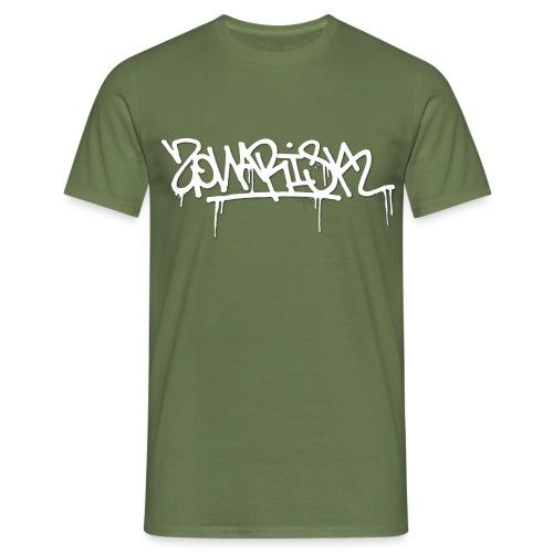 Zonarisk Logo Blanc - T-shirt Homme