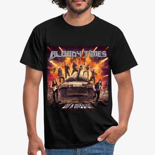 Bloody Times - On A Mission Design - Men's T-Shirt