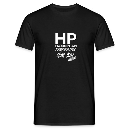 hp hamnplan hoodie - T-shirt herr