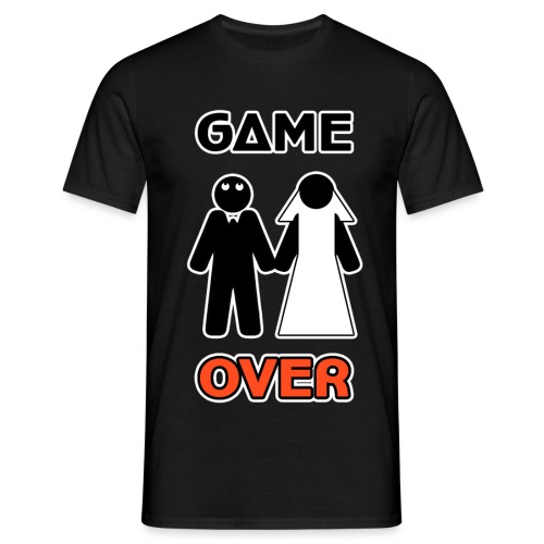 Addio al Celibato - Game Over - Maglietta da uomo