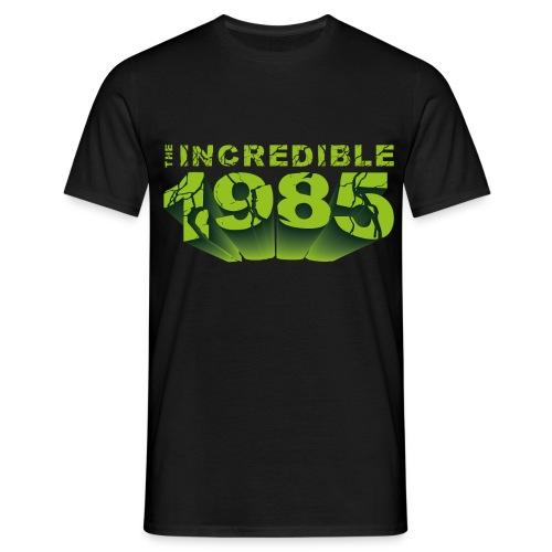 The incredible year 85 - Maglietta da uomo