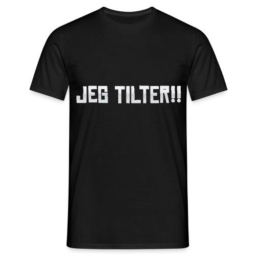 Jeg TILTER! - Herre-T-shirt