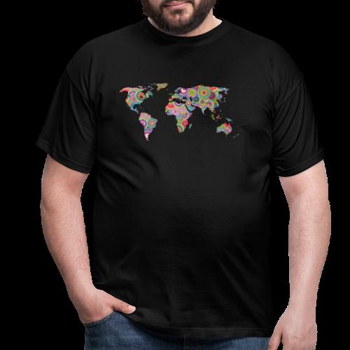 Hipsters' world - Men's T-Shirt