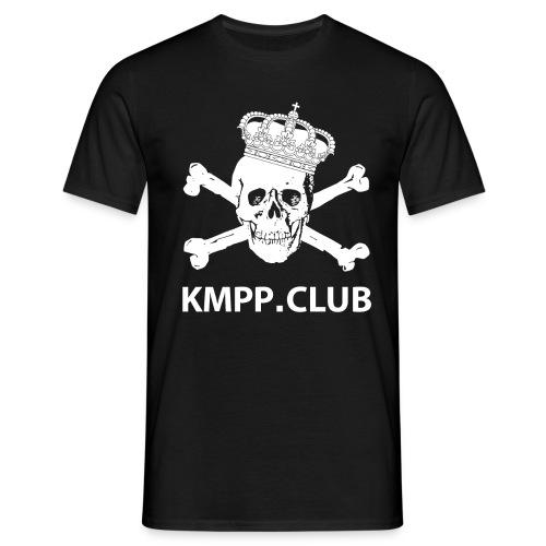 Käpylä Maanantai Skull n Bones logo2 png - Miesten t-paita