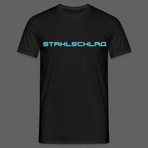 STAHLSCHLAG Text Neon - Men's T-Shirt