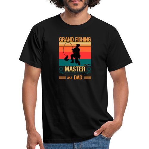Den Store Fiskarmästaren Även Kallad Pappa - T-shirt herr