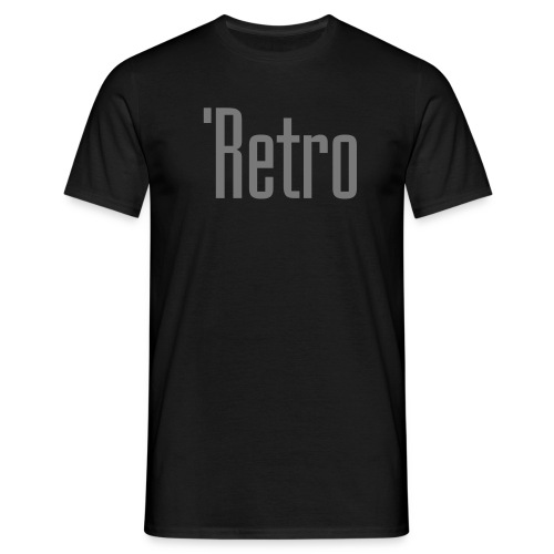 'Retro - Miesten t-paita