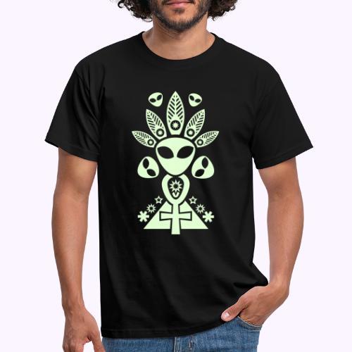 Ankhmania Glow - Miesten t-paita