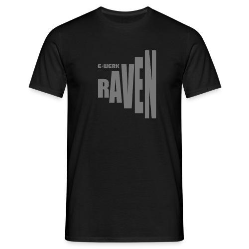 EW-RAVEN-mittelgrau - Männer T-Shirt