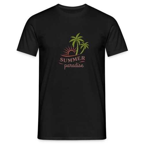 Summer paradise - Men's T-Shirt