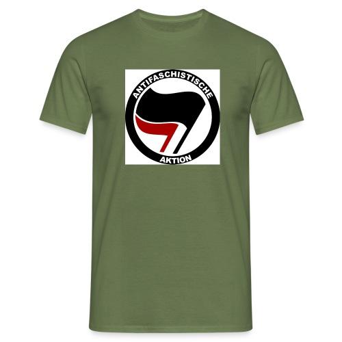 antifa new2 - Männer T-Shirt