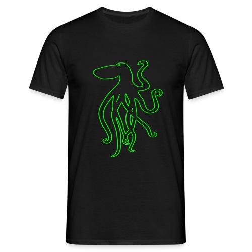 octopuskontur - Männer T-Shirt