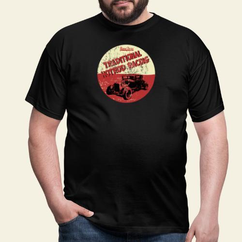 hotrod racing logo - Herre-T-shirt