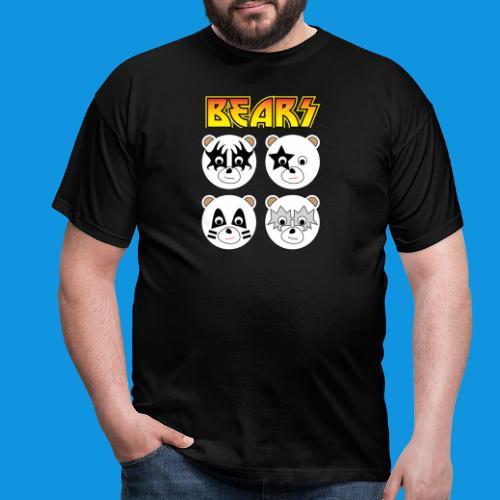 Kiss Bears square.png - Men's T-Shirt