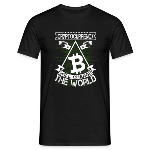 cryptocurrency - Mannen T-shirt