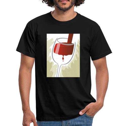 Glas Halfvol - Mannen T-shirt