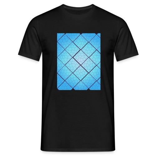 Accrylic floor tiles - Mannen T-shirt