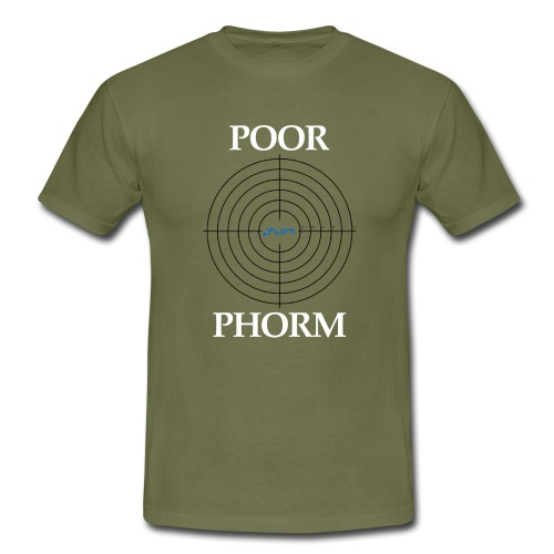 Poor Phorm - Men's T-Shirt