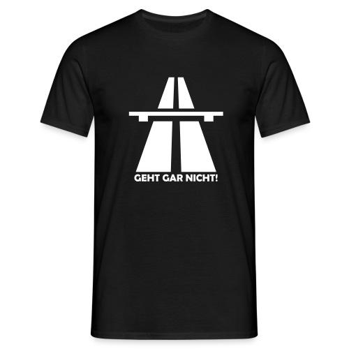 Autobahn-Zitat - Männer T-Shirt