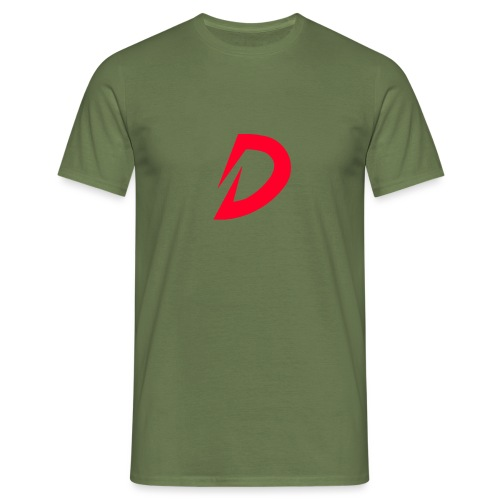 Destra Logo by Atelier render red - Mannen T-shirt