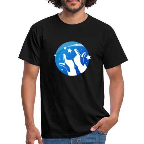 Gleam Hands loho - Men's T-Shirt