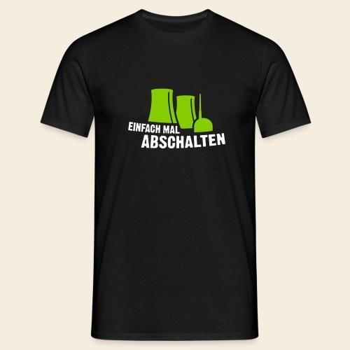 Einfach mal abschalten - Männer T-Shirt