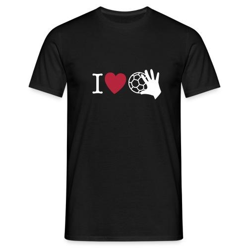 I love Handball 1 - Männer T-Shirt