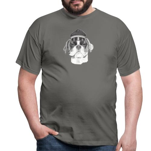 Boxer with cap - Herre-T-shirt
