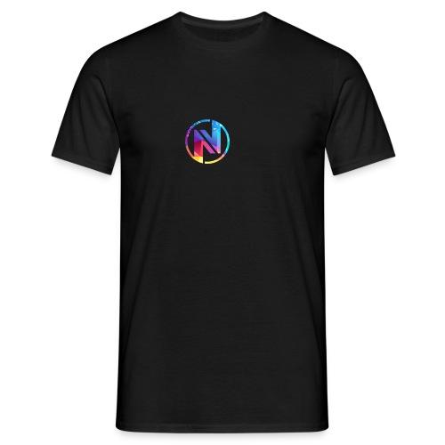 Noob Vision Logo - Herre-T-shirt