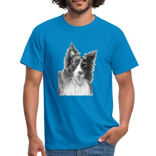 border collie 3 - Herre-T-shirt