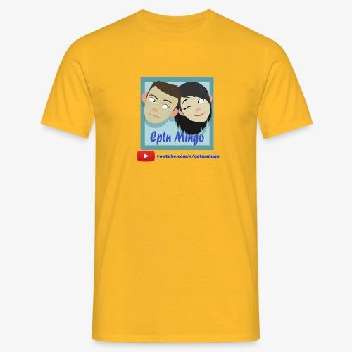 Cptn Mingo Youtube - Men's T-Shirt