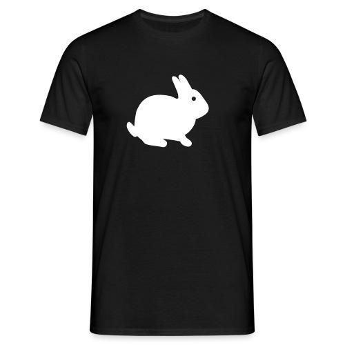 Hasenpower mit Spruch von Laotse - Männer T-Shirt