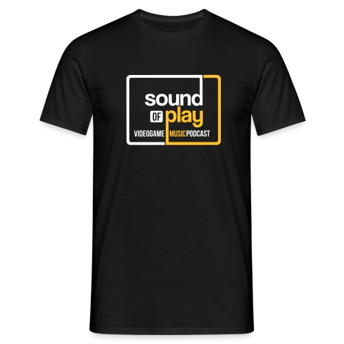 sound of play boxed - Men's T-Shirt