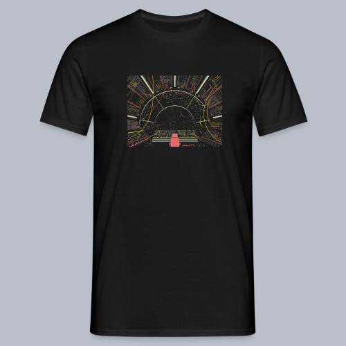 Space Synth - Men's T-Shirt