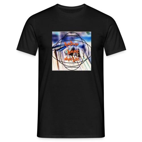 Radio Beat Music - Maglietta da uomo